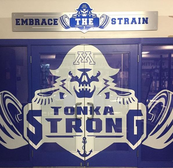 Weight Room Entrance